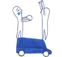 immagine animazione di strada