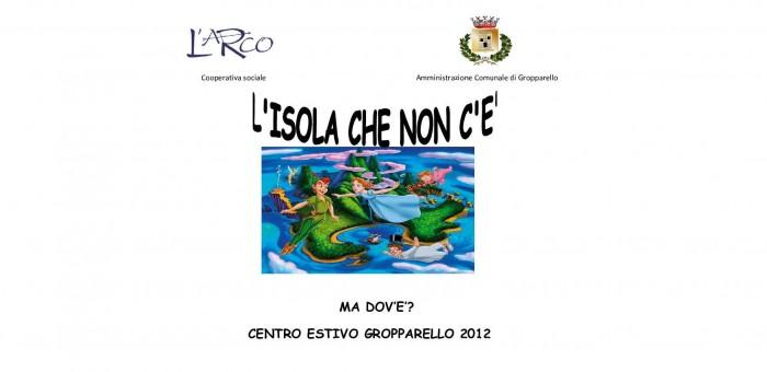 Locandina Centro Estivo Gropparello 2012-4-1